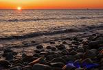 Sunrise, view from Block Island, Rhode Island
