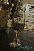 Wine tasting reflections, Finger Lakes region, New York