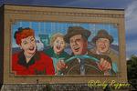 I Love Lucy Building Mural, Jamestown New York