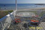 Porch Sitting, Block Island, Rhode Island