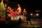 A drive-by visit with Santa