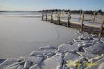 Skaneateles Lake in Winter, Finger Lakes region, New York State