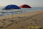 Early morning at Bethany Beach Delaware