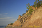 Chimney Bluffs State Park, Wolcott New York, bluffs along the southern shore of Lake Ontario