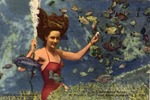 Underwater Mermaid at Weeki Wachee Spring