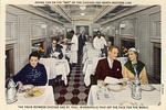 Dining car on the