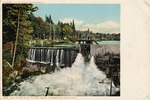 Old Forge Dam, Fulton Chain, Adirondack Mountains