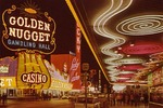 Famous Casino Center on Fremont Street, Las Vegas, Nevada