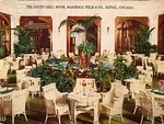 The South Grill Room, Marshall Field & Co., Retail, Chicago