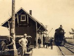 Train Station, Antioch, Illinois