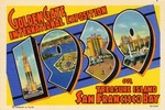 1939 Golden Gate international Exposition, Treasure Island, San Francisco Bay
