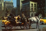 Carriages on 59th Street, New York City