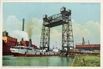 Halstead Street Lift Bridge, Chicago, Illinois