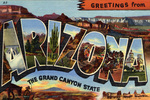 greetings From Arizona The Grand Canyon State