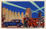 Science Hall, Century of Progress Exposition-Oldsmobile Straight Eight and Six