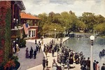 Refectory and Boat Landing in Lincoln PArk, Chicago