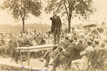 Teddy Roosevelt at Freeport, Illinois