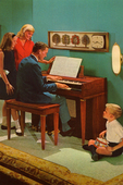 Father Plays the Organ