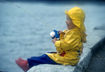 two year old fishing