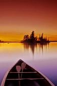 canoe/island