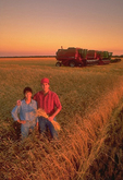farmer and wife