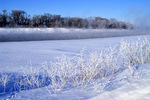 winter along Red River