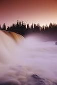 Pisew Falls, Pisew Falls Provincial Park, Manitoba, Canada