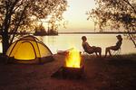 otter Falls campground, Whiteshell Provincial Park, Manitoba, Canada