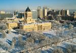 Winnipeg skyline, Winnipeg, Manitoba, Canada