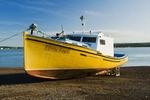 Pfishing boat, Parssboro, Minas Basin, Bay of Fundy, Nova Scotia, Canada