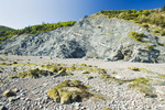 shoreline, Cape Chignecto Provincial Park, near Adocate in the Minas Basin, Bay of Fundy, Nova Scotia