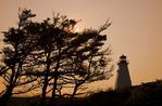 Boar's Head Lighthouse, Long Island, Bay of Fundy, Nova Scotia