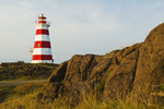 Brier Island lighthouse,Brier Island, Bay of Fundy, Nova Scotia, Canada