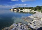 limestone cliffs, Steep Rock, along Lake Manitoba, Canada, Dave Reede, DR_S_0010_MB