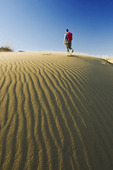 hiking in the Spirit Sands, Spruce Woods Provincial Park, Manitoba, Canada