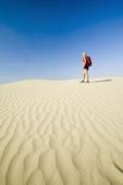 hiking in the Great Saskatchewan Sandhills, near Sceptre, Saskatchewan, Canada