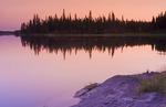 along the Grass River, Manitoba, Canada
