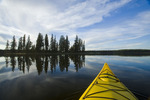 kayaking, Beautiful Lake , Duck Mountain Provincial Park, Manitoba, Canada
