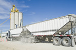 farm truck hauling oats to an inland terminal, Rosser, Manitoba, Canada