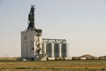 inland grain terminal, Dunmore, Alberta , Canada