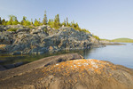 shoreline, Pukaskwa National Park, Lake Superior, Ontario, Canada