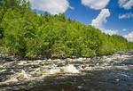 River near Atikokan, Ontario, Canada