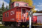 caboose, Nokomis and District Museum, Nokomis, Saskatchewan, Canada