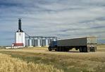 inland grain terminal, Assiniboia, Saskatchewan , Canada
