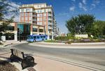 new condo developments along Waterfront Drive, Winnipeg, Manitoba, Canada