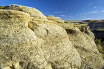 weathered landscape, Writing On Stone Provincial Park, Alberta, Canada