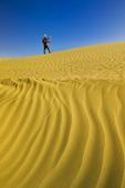hiking in the Great Sandhills, near Sceptre, Saskatchewan, Canada