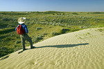  hiking in the Great Sandhills, near Sceptre, Saskatchewan, Canada