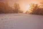 winter along the Winnipeg River, near Seven Sisters, Manitoba, Canada