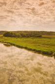 evening along the Qu´Appelle  River, Qu´Appelle  River Valley , Saskatchewan, Canada